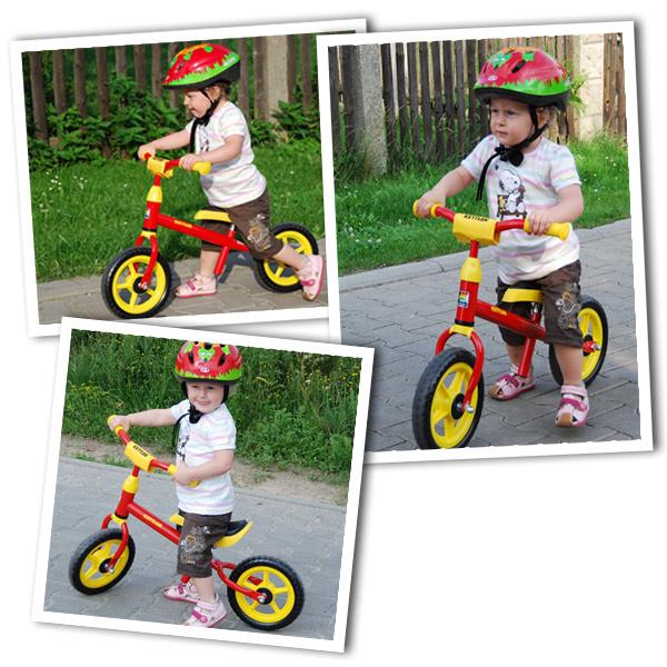 """Mała Zosia na rowerku Kettler Speedy 10"""""""