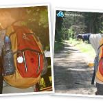 Staś i Maciek z plecakiem Deuter Ultra Bike
