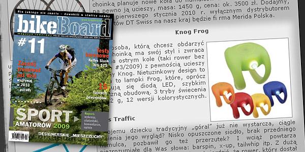 KNOG FROG - Pomysł na rowerowy prezent - bikeBoard nr 11