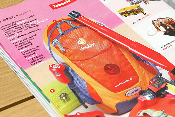 Plecak dla młodego rowerzysty Deuter Ultra Bike