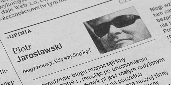 Przyjazna informacja o firmowej ofercie, łatwy kontakt z klientami | Rzeczpospolita | Barbara Mejssner 10-11-2009
