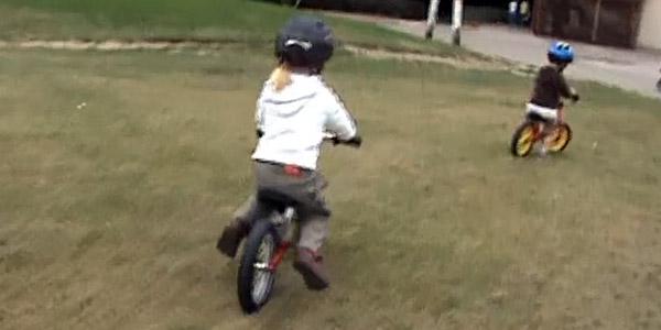 "Klatka filmu ""Hania&Jasio on the runbikes"" od mnowak7 (pinkbike.com)"