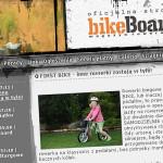 """bikeBoard """"FirstBIKE – inne rowerki zostają w tyle!"""""""