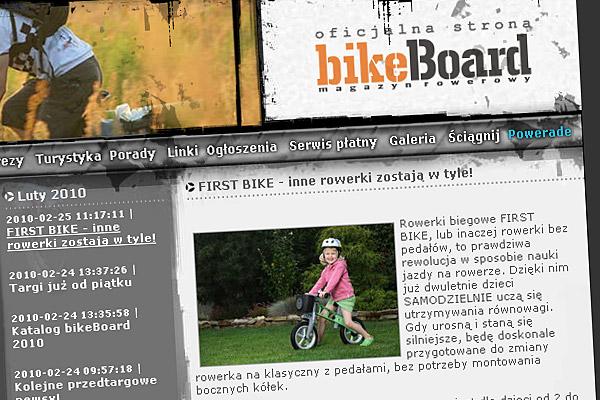 FIRST BIKE - inne rowerki zostają w tyle!