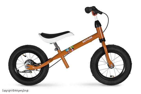 rowerek biegowy Kettler Orange Air bokiem