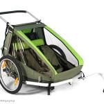 Nowość – przyczepka rowerowa Croozer Kid for 2