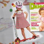 Hulajnoga trójkołowa Mini Micro czyli zabawki na podwórko – miesięcznik Dziecko nr 5 (maj 2010)