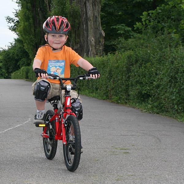 Pierwsza jazda na rowerze z pedałami