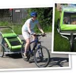 Agnieszka, Marek i Maksio o przyczepce rowerowej Croozer
