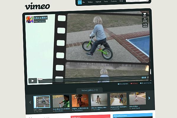 """Oglądaj kanał """"rowerki biegowe"""" AktywnegoSmyka w serwisie Vimeo"""