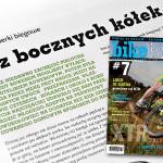 """""""Bez bocznych kółek"""" bikeBoard nr 7 (artykuł o rowerkach biegowych)"""