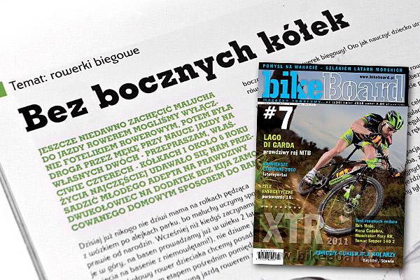 """""""Bez bocznych kółek"""" - Katarzyna Kędracka - magazyn rowerowy bikeBoard nr 7"""