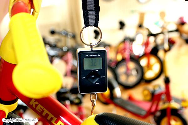"Rowerek biegowy Kettler Speedy 10"" - waga ok. 3,2kg"