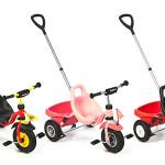 Ciąg dalszy trójkołowych nowości – rowereki Puky CAT 1L jasnoróżowy oraz granatowy
