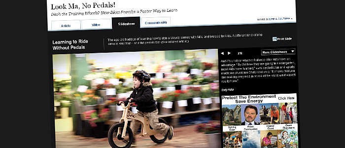 Look Ma, No Pedals! źródło: The Wall Street Journal