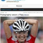 Koniec sezonu letniego z Mają Włoszczowską i akcją Polska na rowery