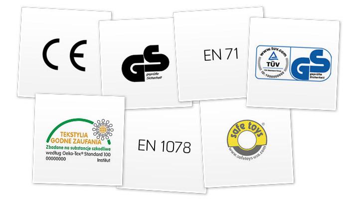 Certyfikaty, normy, oznaczenia - co dokładnie określają