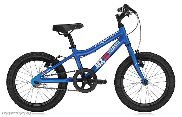 Niebieski rower dla dziecka Ridgeback MX16