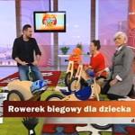 Rowerek biegowy dla dziecka – Dzień Dobry TVN