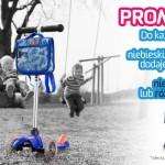 Wakacyjna promocja – hulajnoga Mini Micro niebieska lub różowa z plecakiem lub torebką