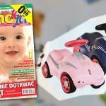 Jeździk Puky Rutscher | Prezent dla maluszka – miesięcznik Mamo to ja nr 12 (grudzień 2011)