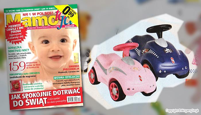Jeździk Puky Rutscher | Prezent dla maluszka - miesięcznik Mamo to ja nr 12 (grudzień 2011)
