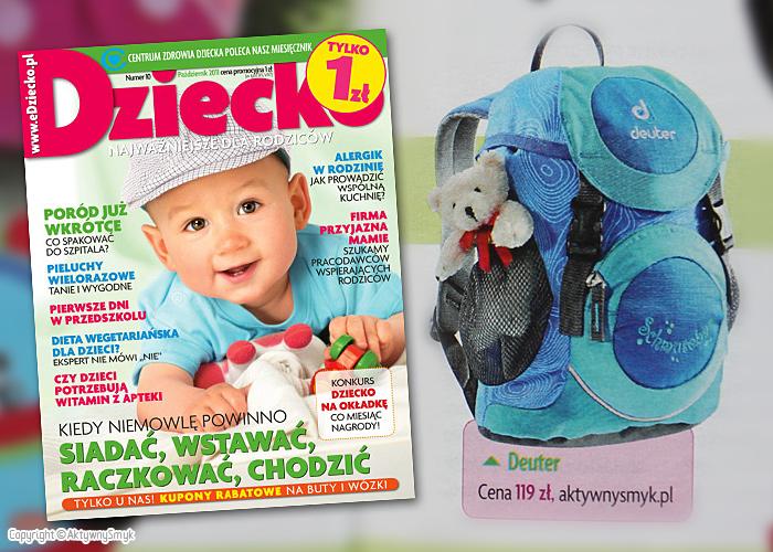 Plecak dla dziecka Deuter Schmusebar