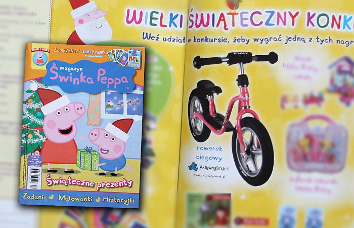 Rowerek biegowy Puky LR 1L | Wielki Konkurs Świąteczny - magazyn Świnka Peppa