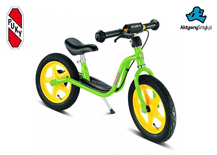Zielony rowerek biegowy Puky LR 1L Br