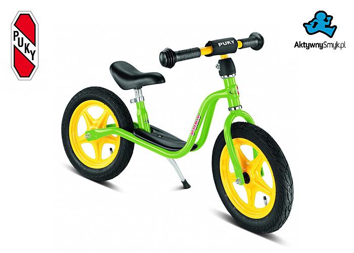 Zielony rowerek biegowy Puky LR 1L