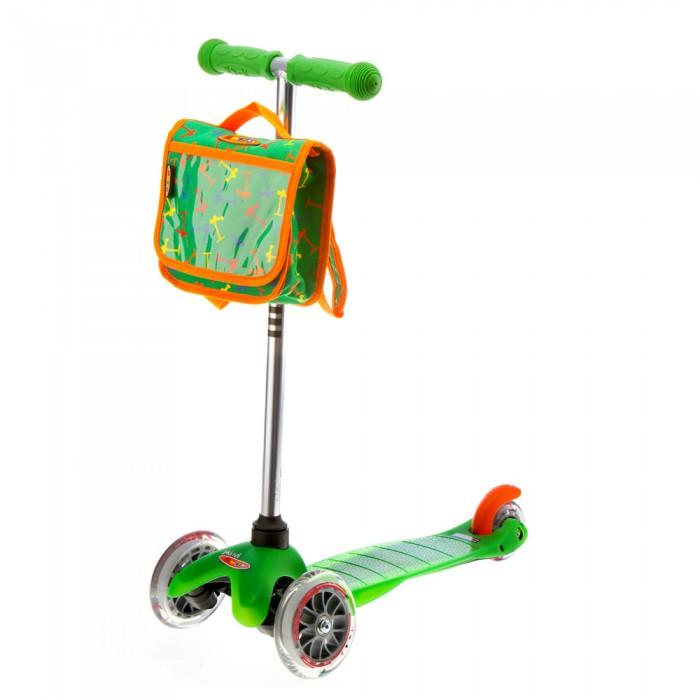 Hulajnoga Mini Micro zielona z plecaczkiem
