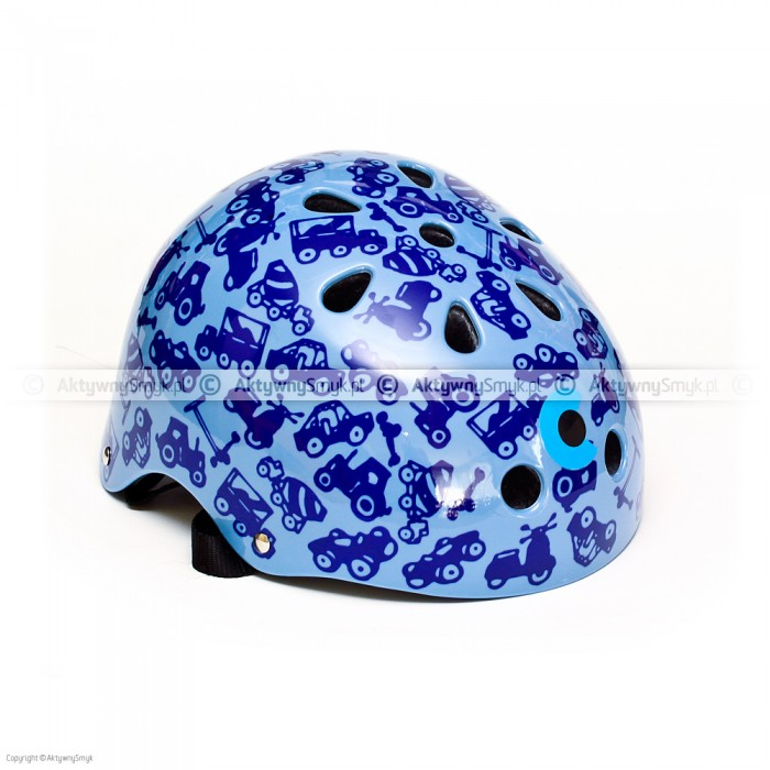 Kask Micro niebieski