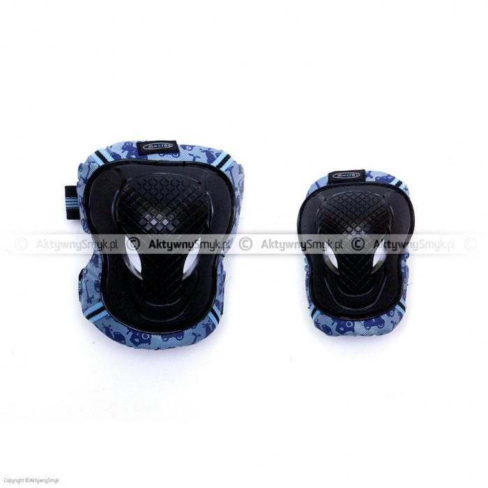 Ochraniacze Micro dla dziecka niebieskie