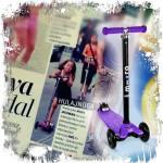 Hulajnoga Maxi Micro w dwutygodniku Flesz Gwiazdy & Styl