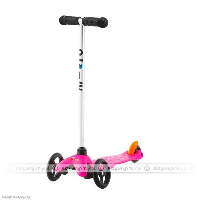 Hulajnoga Mini Micro uczy dziecko utrzymywania równowagi, balansowania ciałem, pozwala najmłodszym smykom cieszyć się jazdą, która do tej pory zarezerwowana była dla starszych dzieci.