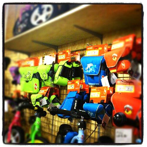 Akcesoria Puky do rowerków biegowych i rowerów - torebki, torby i sakwy