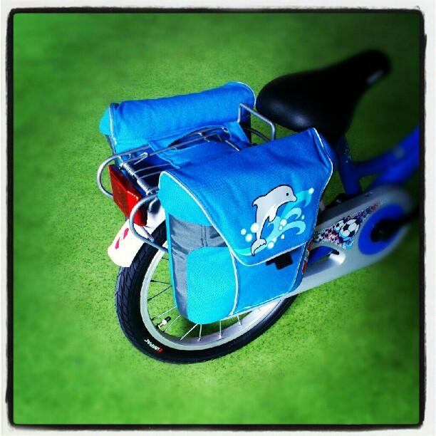 Sakwy rowerowe Puky idealnie pasujące do rowerów Puky