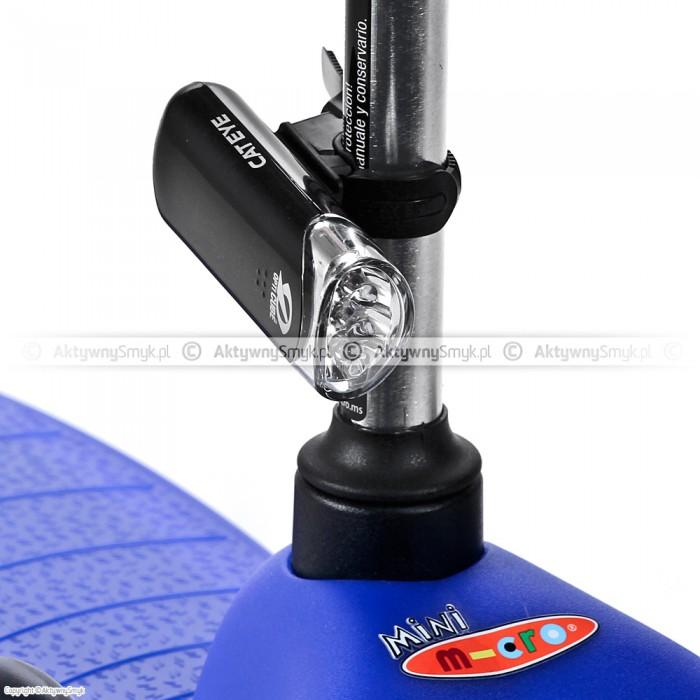 Lampka przednia Cat Eye HL-EL135 na hulajnodze Mini Micro