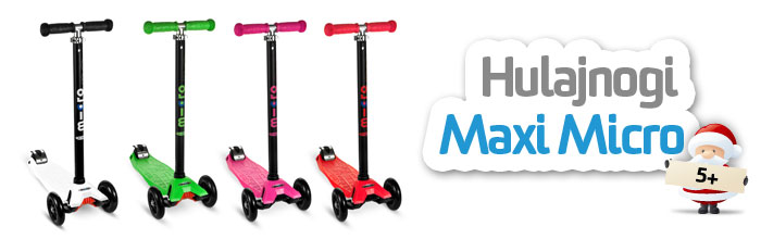 Hulajnogi Maxi Micro  w sklepie AktywnySmyk