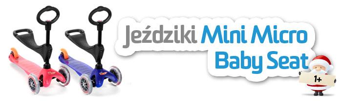 Jeździk i hulajnoga Mini Micro Baby Seat | AktywnySmyk Warszawa Białobrzeska 5