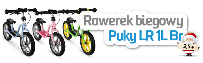 Rowerki biegowe Puky LR 1L | AktywnySmyk - Warszawa Białobrzeska 5