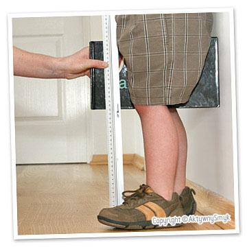 Pomiar długości nóżki AktywnegoSmyka