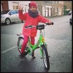 AktywnySmyk lubi… zdjęcie dziewczynki na rowerze Puky ZL 18 Alu