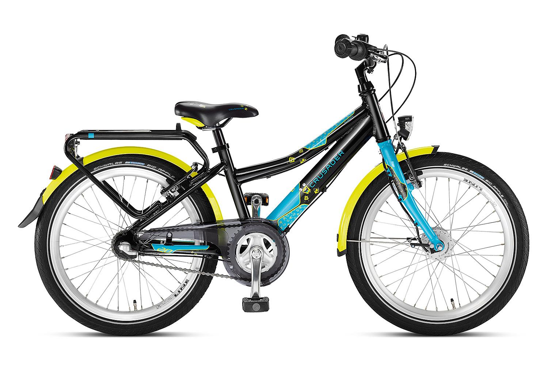 Czarny/lagoon rower Puky Crusader 20-3 Alu Light