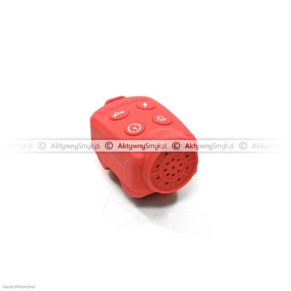 Czerwony klakson Scootrix to wyjątkowy gadżet dla każdego AktywnegoSmyka.