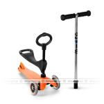 Nowość | Pomarańczowa Mini Micro Baby Seat – jeździk i hulajnoga Mini Micro
