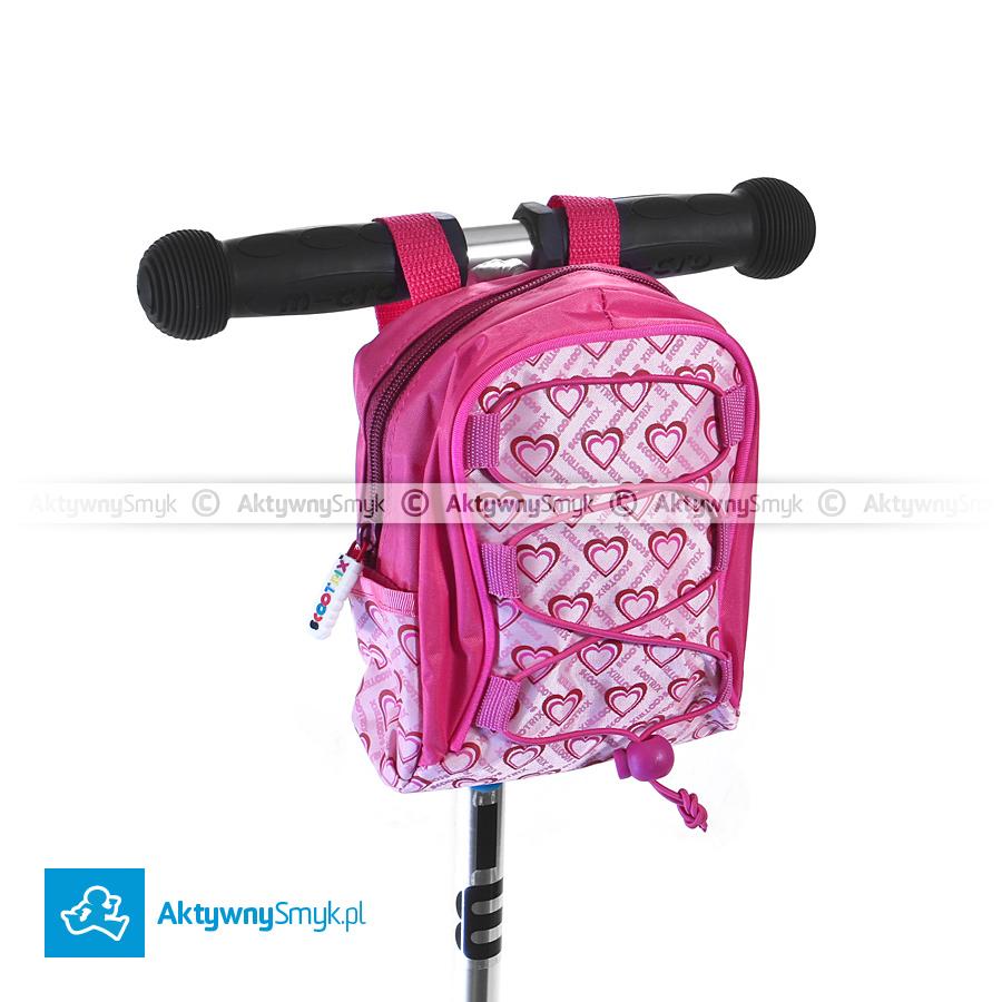 Różowa torebka Scootrix