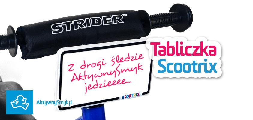 Tabliczka Scootrix