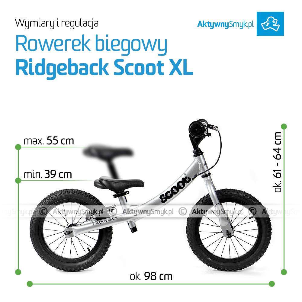 Rowerek biegowy Ridgeback Scoot XL