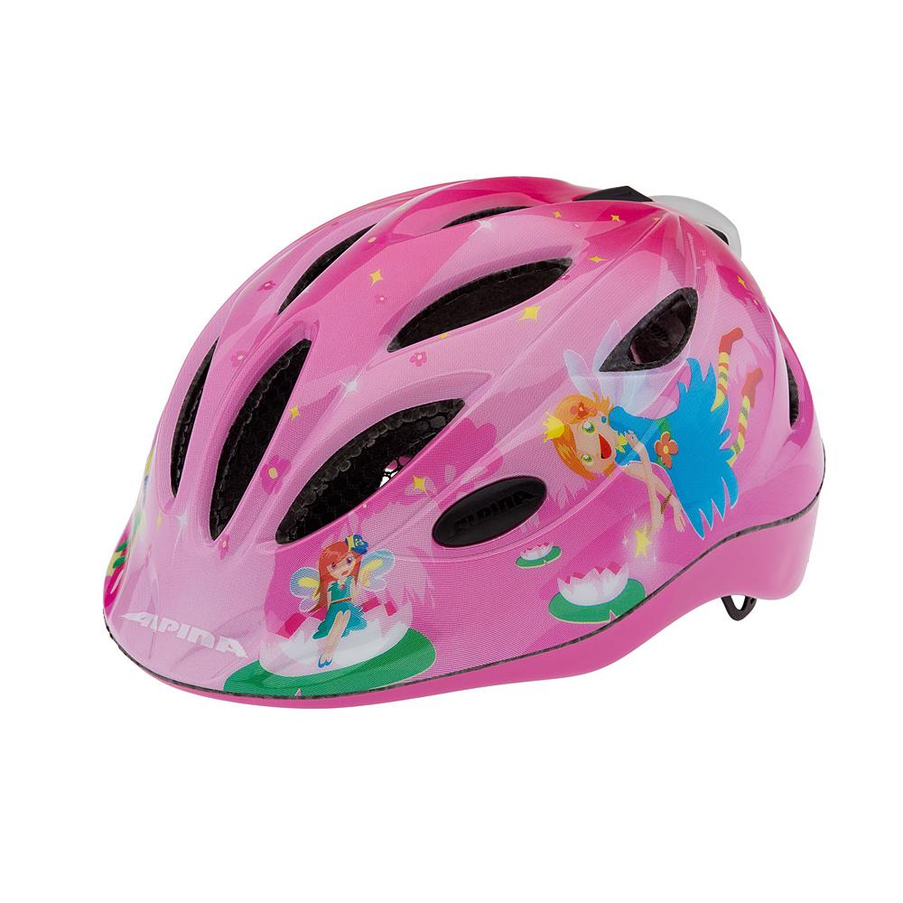 """Oczywiście różowy kask rowerowy Alpina Gamma Flash """"Little Princess"""""""